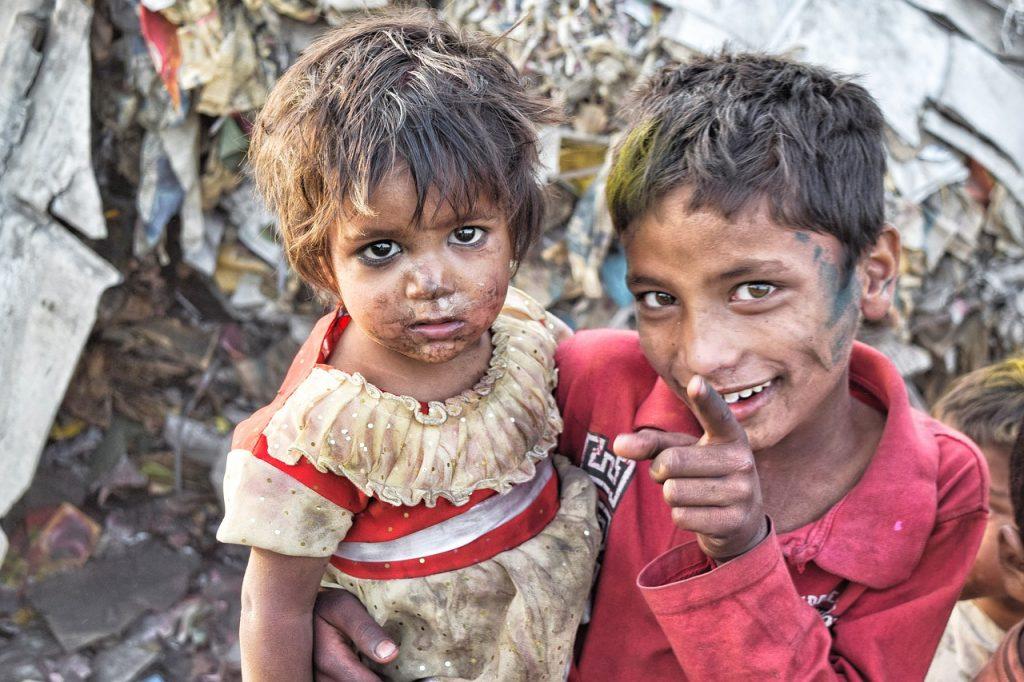 india, slums, poor